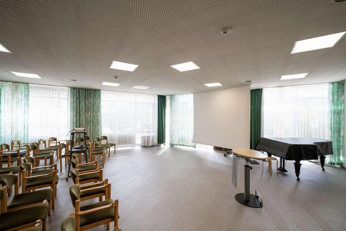 Musikraum der Rheintalkllinik