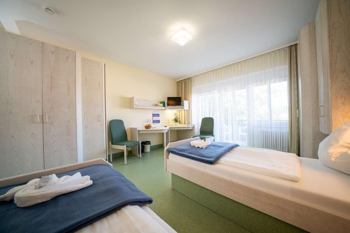 Doppelzimmer – Rheintalklinik Bad Krozingen